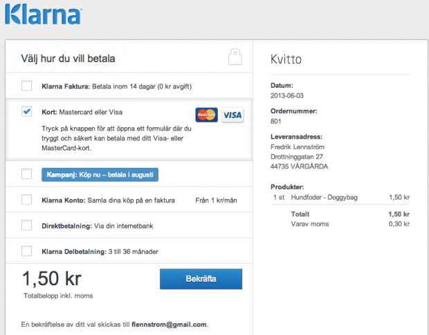 Klarna in Norway and Finland!