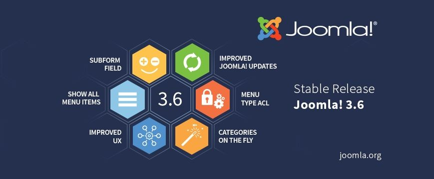 Joomla 3.6 released with over 400 improvements!