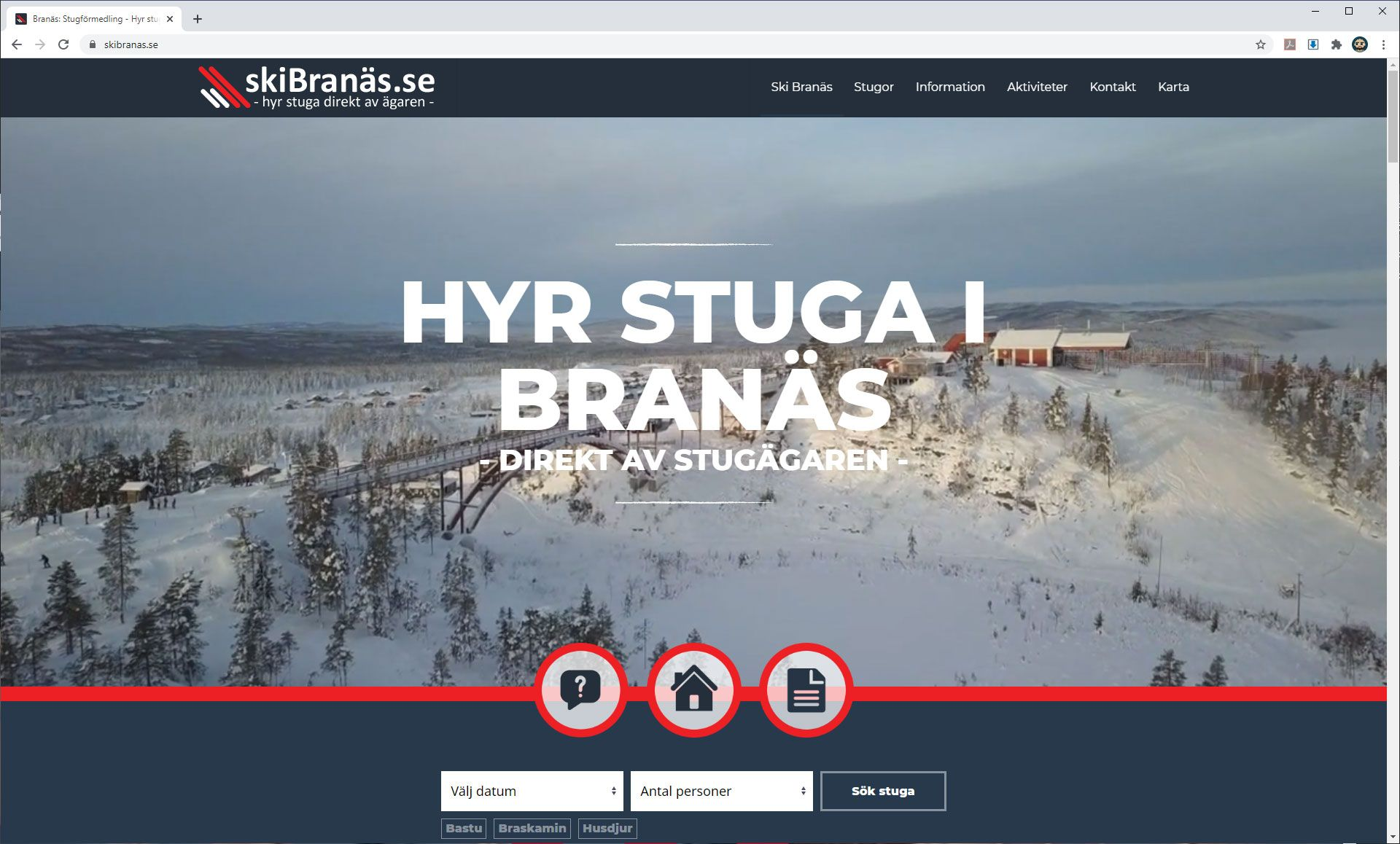 Skibranäs - Rent your cottage from the cottage owner